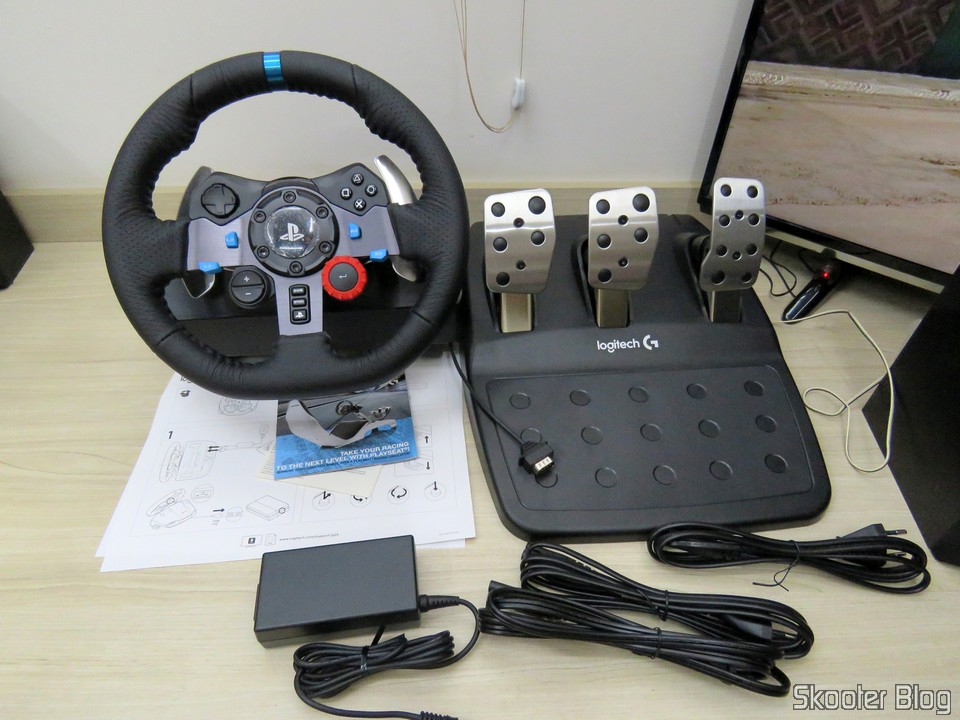 [Review] Volante de corrida Driving Force Logitech G29